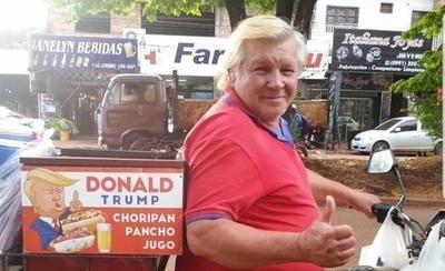 HOY / CNN se hace eco del Donald Trump paraguayo que vende choripán