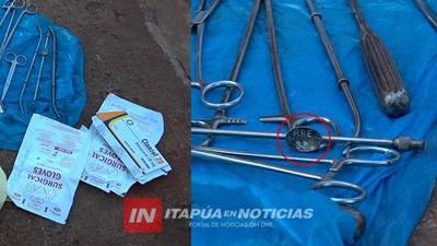 CASO ABORTO: DESDE EL HOSPITAL INVESTIGAN FUGA DE INSTRUMENTOS