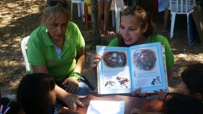 Actividades promueven la lengua y la lectura en el sur del país
