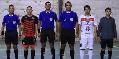 Divulgan lista de árbitros para torneos de futsal