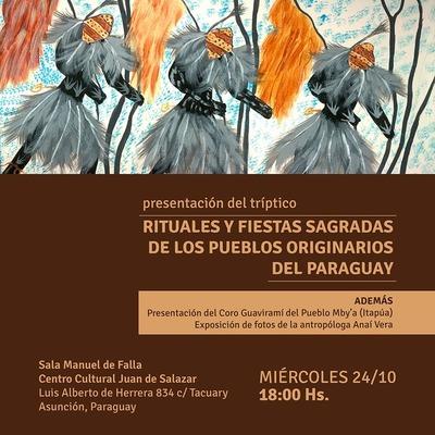 Lanzamiento de tríptico sobre rituales y festividades indígenas