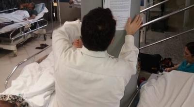 HOY / IPS liberará pasillos, derivará pacientes a otros hospitales y prepara habilitación del Ingavi