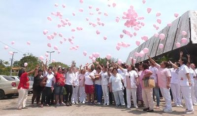 """Octubre Rosa"" llegará a la Plaza de la Democracia"