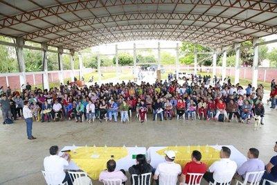 Tekoporã benefició a 387 familias del distrito de Simón Bolívar