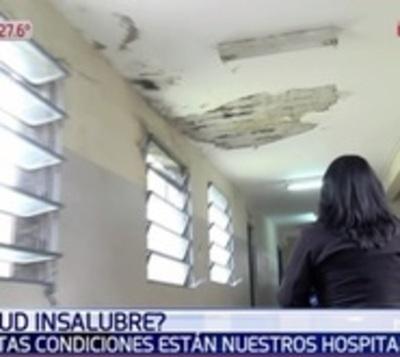 Hospital San Pablo está afectado por la humedad y vulnera a pacientes