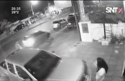 Itaguá: conductor irresponsable y agresivo
