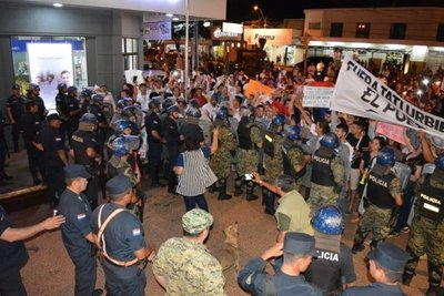Quinto día de escraches en Concepción