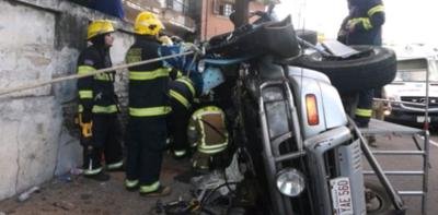 Accidente deja cinco heridos – Prensa 5