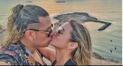 Marcia Franco y su novio celebraron su aniversario