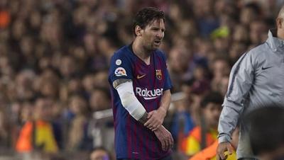 """HOY / Especialista cree que Messi no precisa cirugía """"si tiene fractura cabeza radio tipo II"""""""