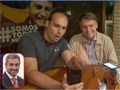 """Bolsonaro quiere """"fortalecer"""" relaciones con Paraguay"""