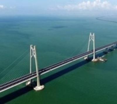El puente más extenso del mundo está listo: Tiene 54 kilómetros
