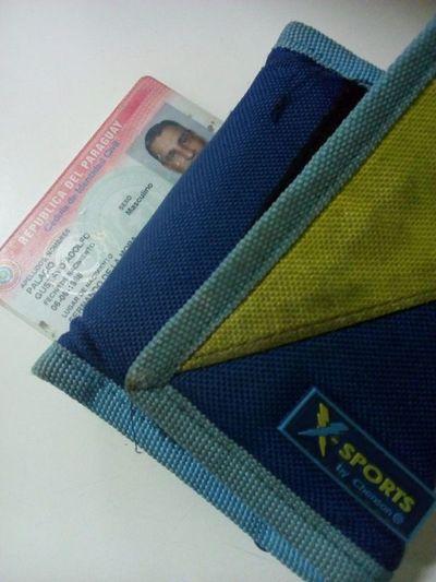 Billetera encontrada con documentos