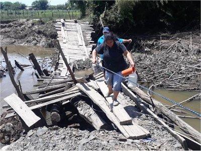 Colonia Tierra Prometida pide reparación de puente