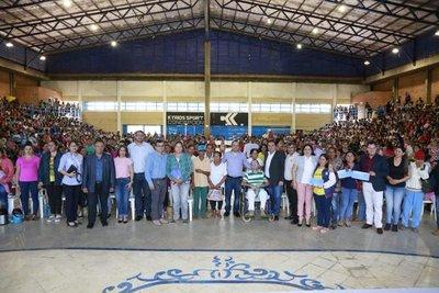 Benefician a más de 1.000 familias de Concepción con Tekoporã y Tenonderã
