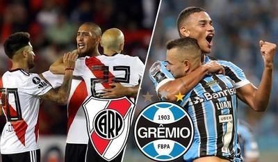 River Plate y Gremio abren una serie semifinal a todo o nada
