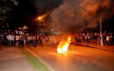 Incidentada protesta hubo en Concepción