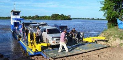 Reanudan cruce del río Tebicuary