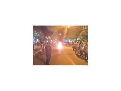 Otra violenta represión contra manifestantes en Concepción