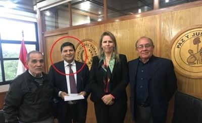 Viceministro Pedro Mancuello y su inutilidad para Ciudad del Este