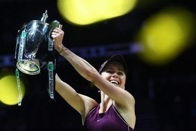 Svitolina logra con el Masters su primer gran título