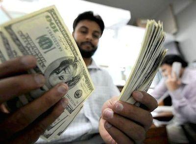 Nivel del dólar pudo pasar los G. 8.000