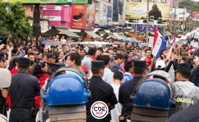Coche bomba debía explotar en manifestación en Ciudad del Este