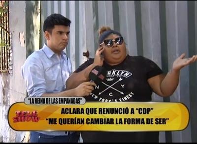 """""""Reina de la Empanada"""" destrozó a """"Cuestión de Peso"""": """"Se burlan de Jesús"""""""