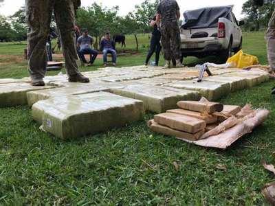 SENAD captura a 3 personas con más de 1 Tonelada de Marihuana en San Pedro del Paraná – Prensa 5