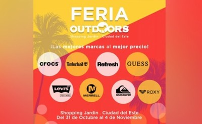 """Hoy inicia """"Feria Outdoors"""" en el Este"""