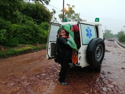 Prevén asistencia para evacuados por lluvias en San Ignacio
