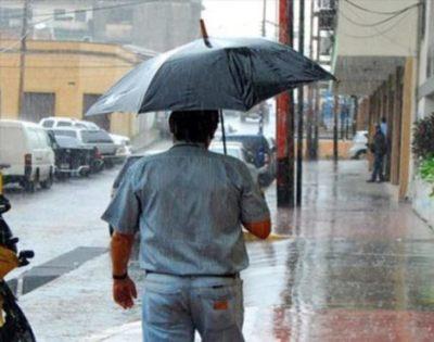 Lluvias continuarían este jueves sobre gran parte del país