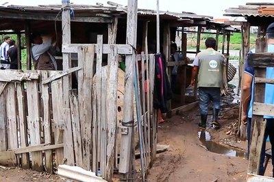 978 familias ribereñas están evacuadas en 24 refugios