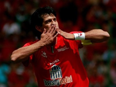 Toluca rememora el histórico gol del Pepe Cardozo