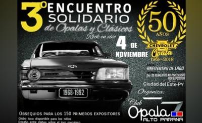 """Tercera edición de """"Encuentro Solidario de Opalas y Clásicos"""""""