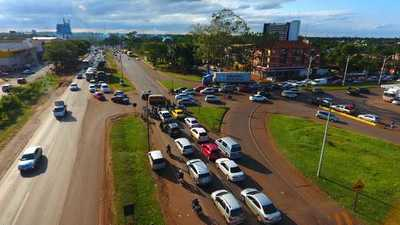 Obra vial en Km 7 de CDE aliviará circulación diaria de 60.000 vehículos