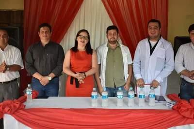 Villalba asúme la dirección del Centro de Salud – Prensa 5
