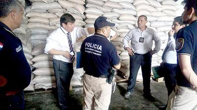 Decomisan gran volumen de productos de contrabando en CDE