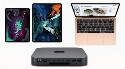 Apple lanza sus renovados Macbook Air, iPad Pro y Mac Mini