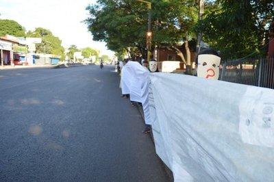 Capiateños exigieron fin de lista sábana de corruptos