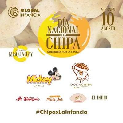 El viernes compra las chipas solidarias para ayudar a la niñez