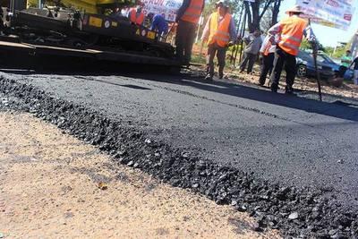 Más calles de Capiatá serán asfaltadas
