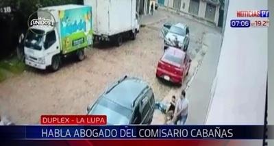 Fiscalía se apuró al imputar al comisario Cabañas, afirma abogado