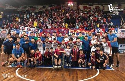 Cerro Porteño, flamante tetracampeón en futsal