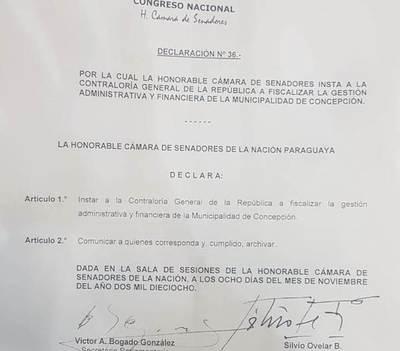 Senado urge a contralor a que audite gestión de Tati Urbieta