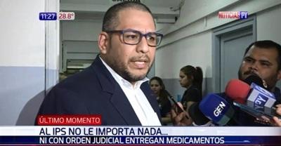 Defensor del Pueblo exige soluciones al titular de IPS