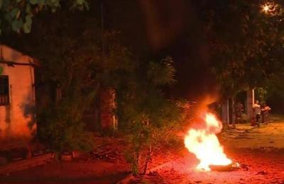 Vecinos de Luque se manifiestan contra un habitante violento
