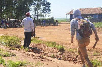 Campesinos intentaron invadir tierras en San Vicente Pancholo