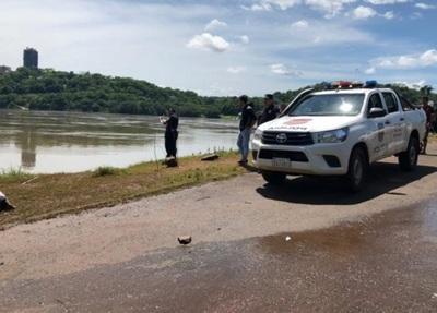 Hallan cuerpo sin vida en aguas del río Paraná