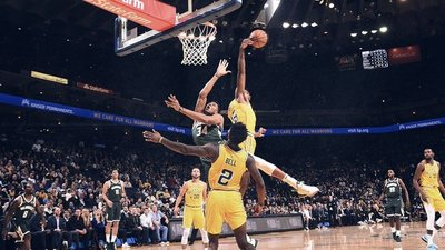 NBA: Bucks dan la nota y tumban a Warriors